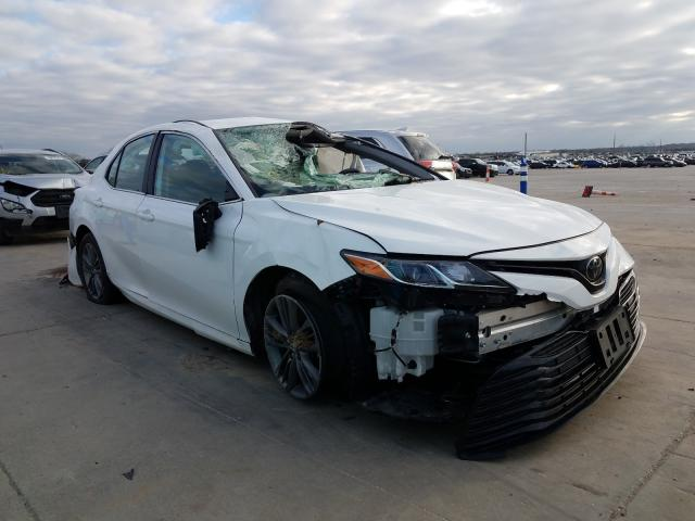 Salvage cars for sale from Copart Grand Prairie, TX: 2019 Toyota Camry L