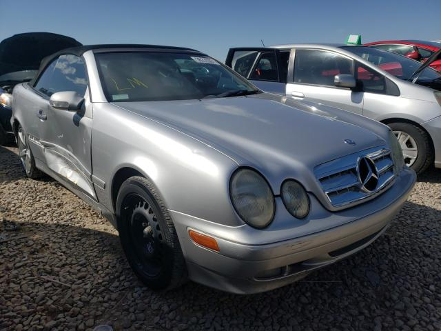 Mercedes-Benz salvage cars for sale: 2002 Mercedes-Benz CLK 320