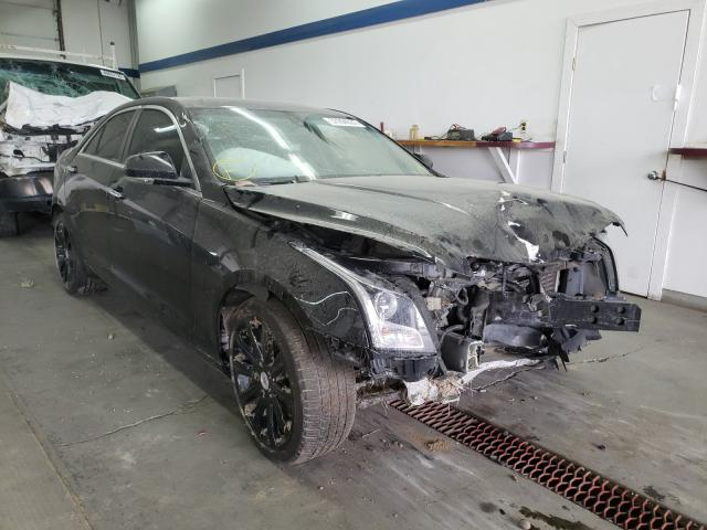 Salvage cars for sale from Copart Pasco, WA: 2014 Cadillac ATS Luxury