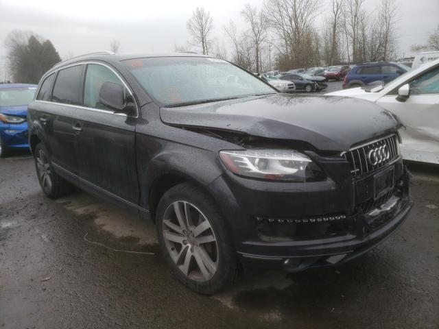 Audi Q7 salvage cars for sale: 2014 Audi Q7