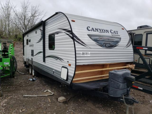 Palomino salvage cars for sale: 2015 Palomino Travel Trailer