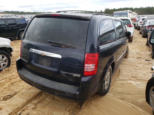 2010 CHRYSLER TOWN & COU - Right Rear View