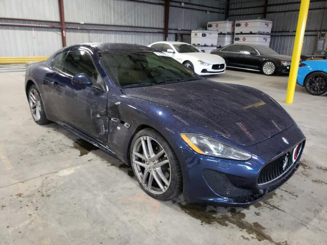 Salvage cars for sale from Copart Jacksonville, FL: 2015 Maserati Granturismo