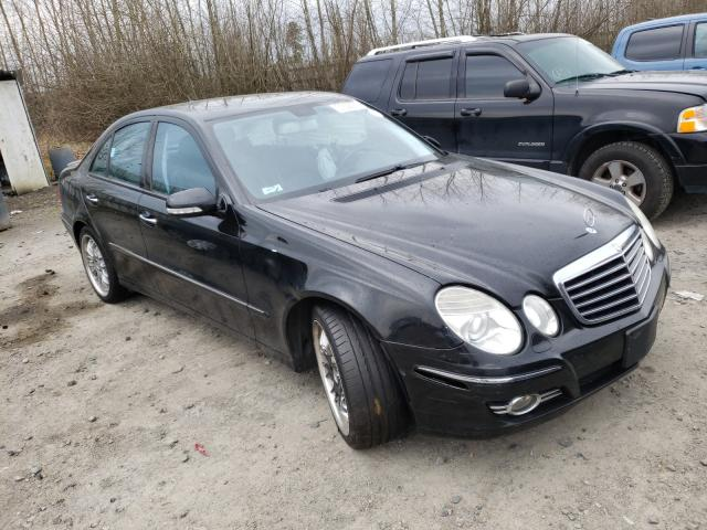 Mercedes-Benz salvage cars for sale: 2008 Mercedes-Benz E 350 4matic