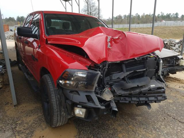 Salvage cars for sale from Copart Gaston, SC: 2017 Dodge RAM 1500 ST