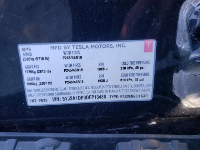 2013 Tesla MODEL S | Vin: 5YJSA1DP0DFP13488