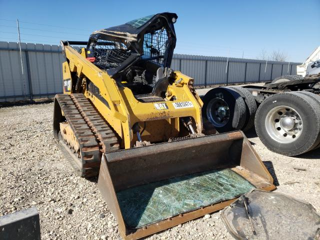 Salvage cars for sale from Copart Temple, TX: 2017 Caterpillar 299D2