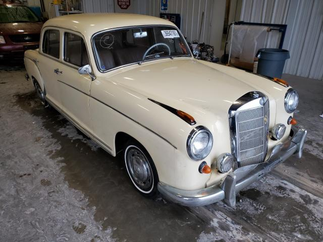 Salvage cars for sale from Copart Rogersville, MO: 1959 Mercedes-Benz 220S