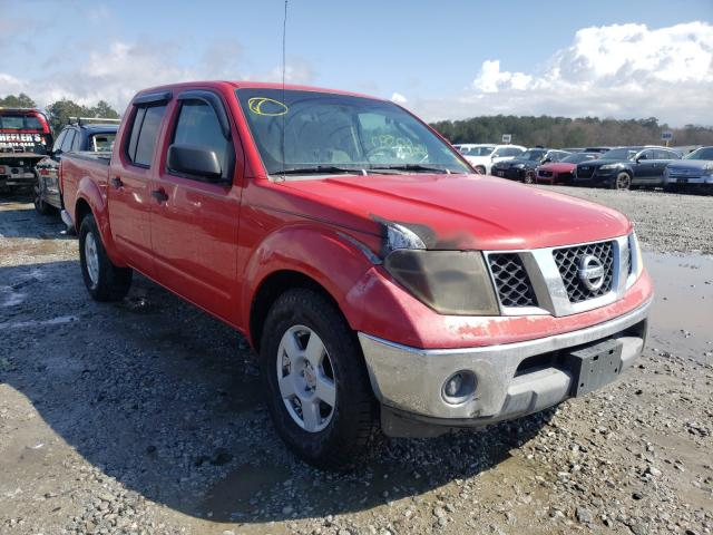 Salvage cars for sale from Copart Ellenwood, GA: 2005 Nissan Frontier C