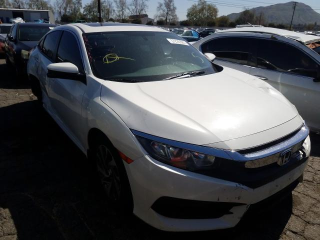 Salvage cars for sale from Copart Colton, CA: 2016 Honda Civic EX