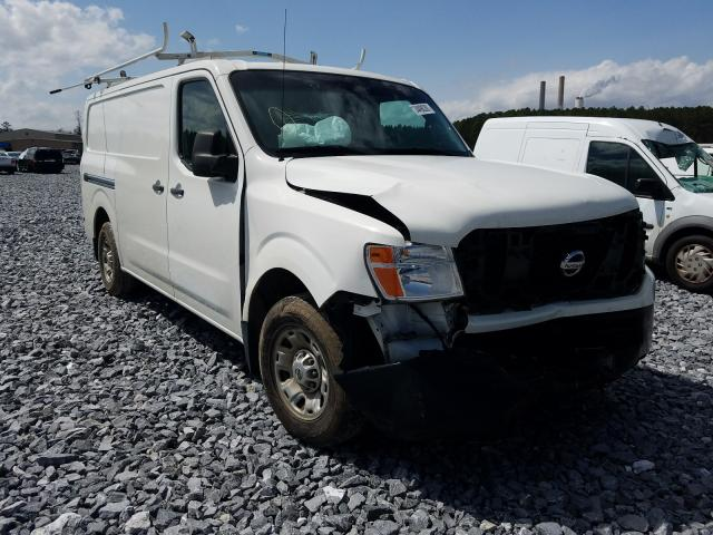 Salvage cars for sale from Copart Cartersville, GA: 2015 Nissan NV 1500