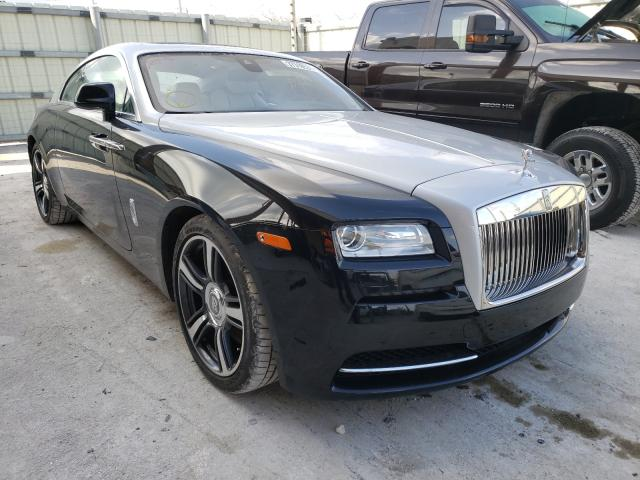 Salvage cars for sale from Copart Homestead, FL: 2015 Rolls-Royce Wraith