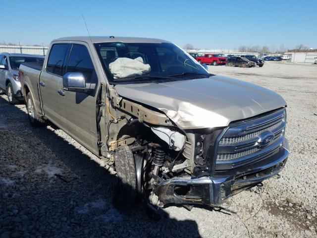 Salvage cars for sale from Copart Appleton, WI: 2017 Ford F150 Super
