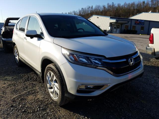 Salvage cars for sale from Copart Hurricane, WV: 2015 Honda CR-V EX