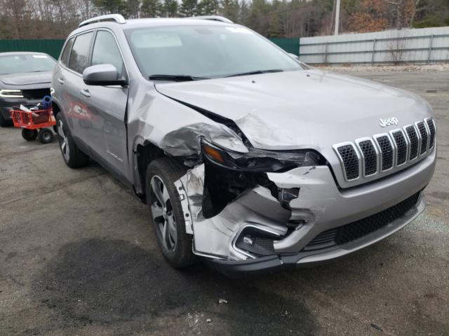 Salvage cars for sale from Copart Exeter, RI: 2020 Jeep Cherokee L