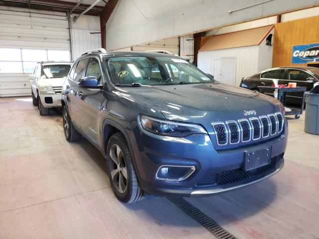 Salvage cars for sale from Copart Angola, NY: 2019 Jeep Cherokee L