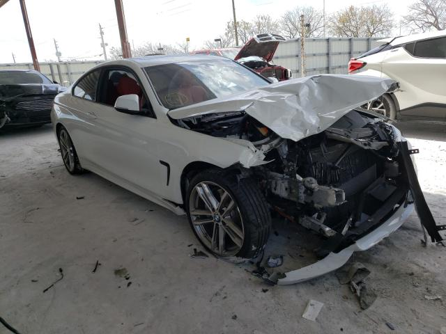 Salvage cars for sale from Copart Homestead, FL: 2020 BMW 430I