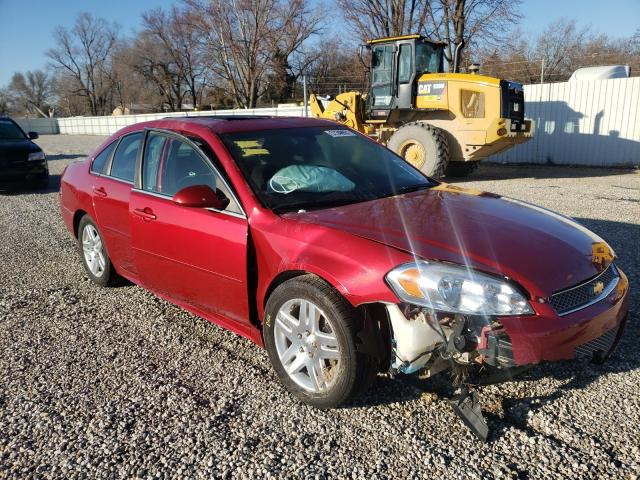 Salvage cars for sale from Copart Wichita, KS: 2014 Chevrolet Impala LIM