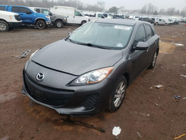 2012 MAZDA 3 I - Left Front View