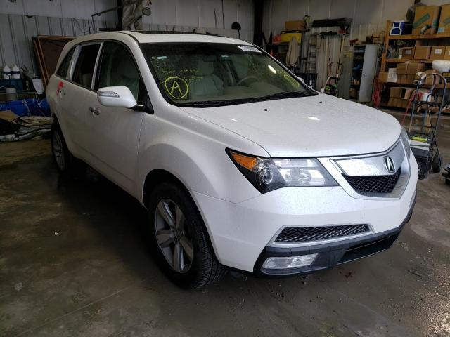 Salvage cars for sale from Copart Duryea, PA: 2011 Acura MDX Techno