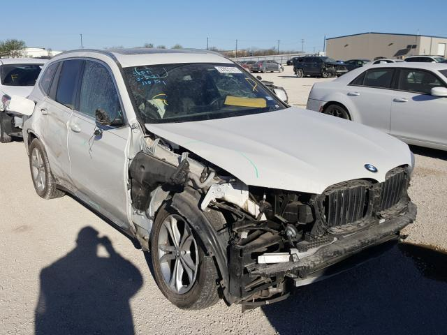 Salvage cars for sale from Copart San Antonio, TX: 2019 BMW X3 XDRIVE3