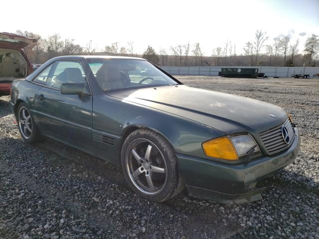 Mercedes-Benz 500 SL salvage cars for sale: 1991 Mercedes-Benz 500 SL