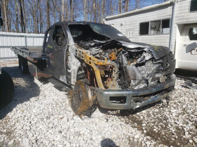 Salvage cars for sale from Copart West Warren, MA: 2018 Ford F550 Super