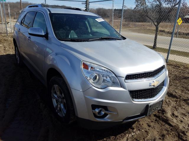 Salvage cars for sale from Copart Madison, WI: 2013 Chevrolet Equinox LT