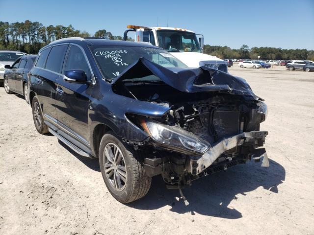 Infiniti QX60 salvage cars for sale: 2018 Infiniti QX60
