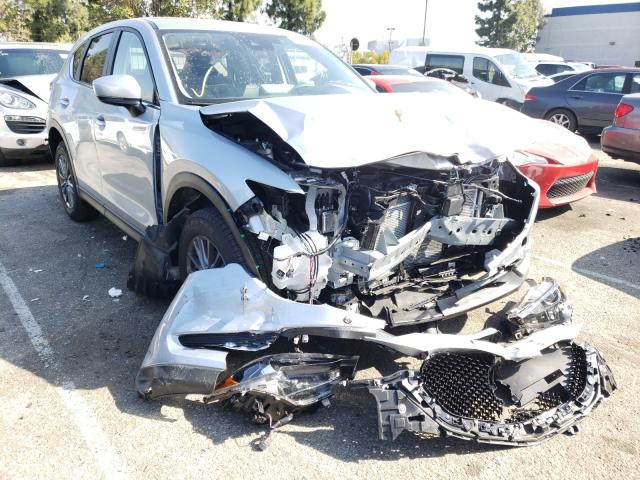 Salvage cars for sale from Copart Rancho Cucamonga, CA: 2021 Mazda CX-5 Touring