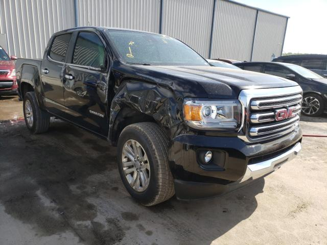 Salvage cars for sale from Copart Apopka, FL: 2016 GMC Canyon SLT