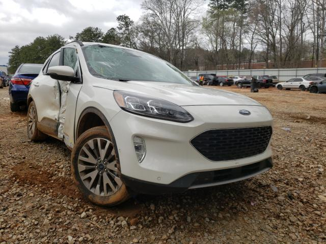 Salvage cars for sale from Copart Austell, GA: 2020 Ford Escape Titanium