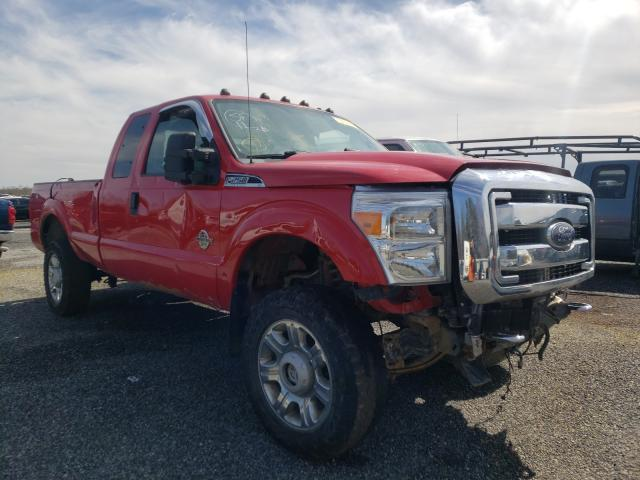 Salvage cars for sale from Copart Fredericksburg, VA: 2011 Ford F250 Super