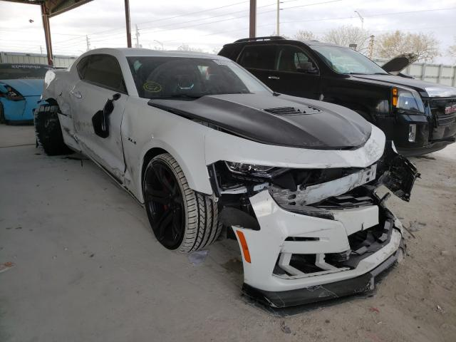 Salvage cars for sale from Copart Homestead, FL: 2019 Chevrolet Camaro SS