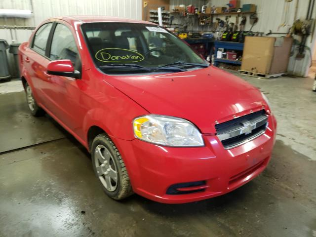 Salvage cars for sale from Copart Avon, MN: 2010 Chevrolet Aveo LS