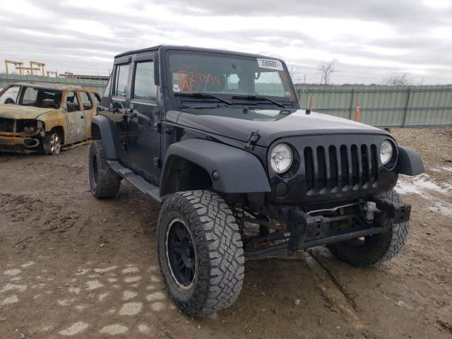 Salvage cars for sale from Copart Kansas City, KS: 2013 Jeep Wrangler U
