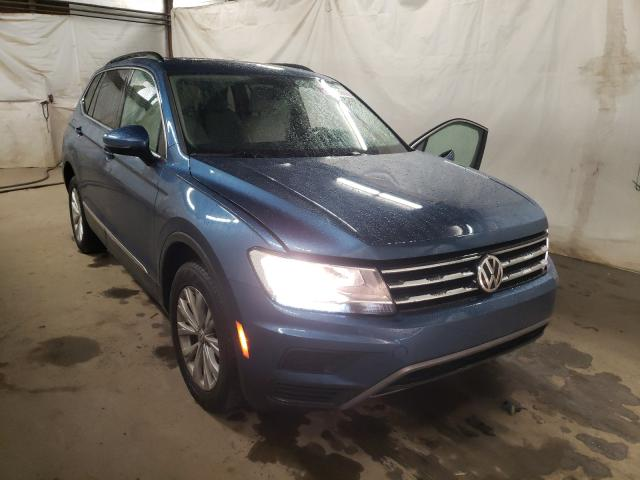 Salvage cars for sale from Copart Ebensburg, PA: 2018 Volkswagen Tiguan SE