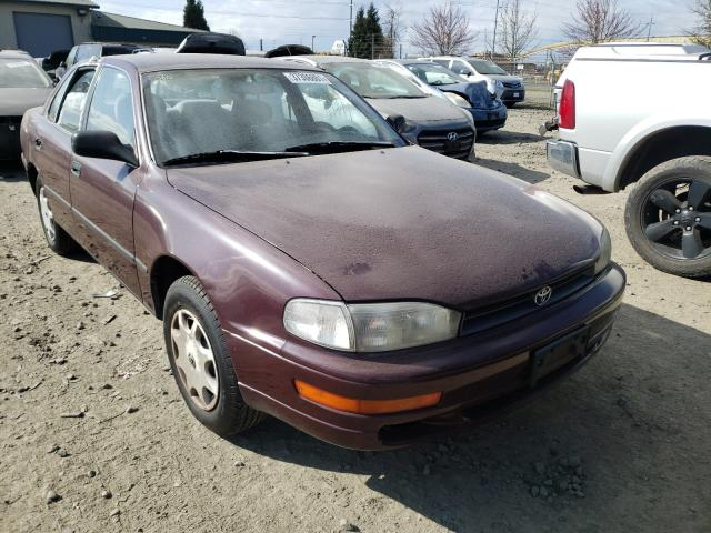 Salvage cars for sale from Copart Eugene, OR: 1992 Toyota Camry DLX