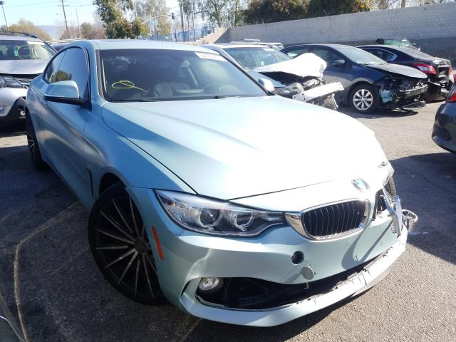 Salvage cars for sale from Copart Colton, CA: 2014 BMW 428 I
