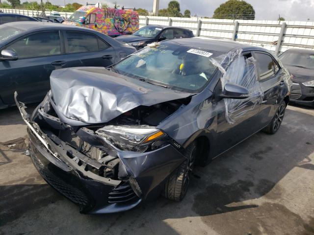 2017 TOYOTA COROLLA L - Left Front View
