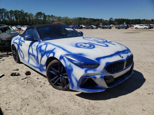 Salvage cars for sale from Copart Houston, TX: 2020 BMW Z4 M40I