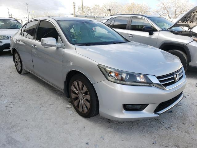 Salvage cars for sale from Copart Homestead, FL: 2014 Honda Accord EXL