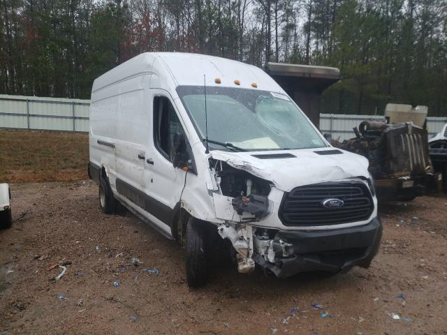 Salvage cars for sale from Copart Charles City, VA: 2018 Ford Transit T