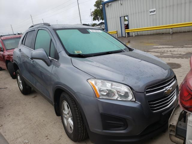 Salvage cars for sale from Copart Riverview, FL: 2015 Chevrolet Trax 1LT