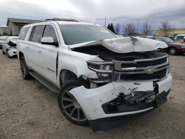 Chevrolet Suburban K salvage cars for sale: 2016 Chevrolet Suburban K