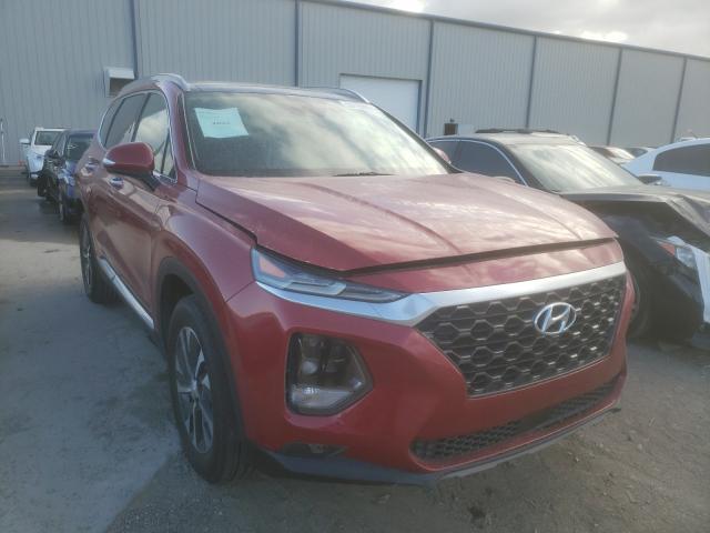Salvage cars for sale from Copart Apopka, FL: 2019 Hyundai Santa FE L