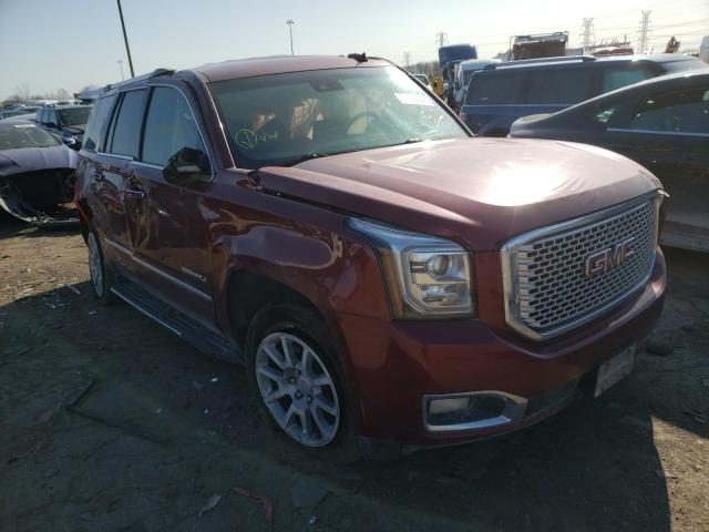 Salvage cars for sale from Copart Woodhaven, MI: 2017 GMC Yukon Dena
