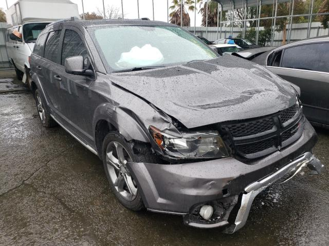 Salvage cars for sale from Copart Martinez, CA: 2016 Dodge Journey CR