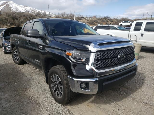 Salvage cars for sale from Copart Reno, NV: 2019 Toyota Tundra CRE