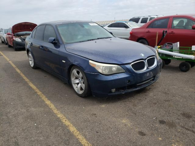 Salvage cars for sale from Copart Sacramento, CA: 2004 BMW 530 I